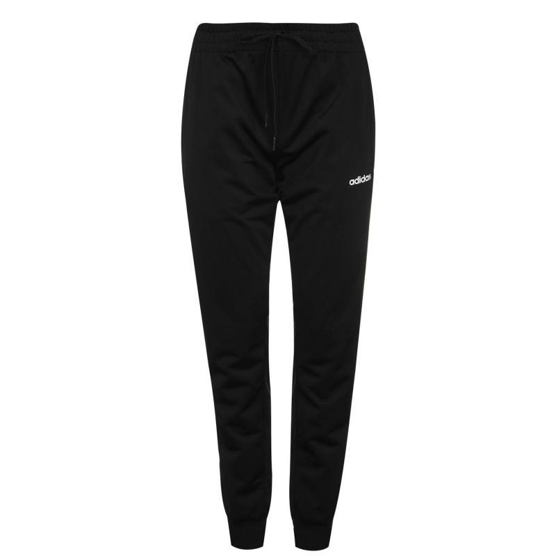 Sportovní kalhoty adidas C90 Poly Jogging Pants Ladies Black/White