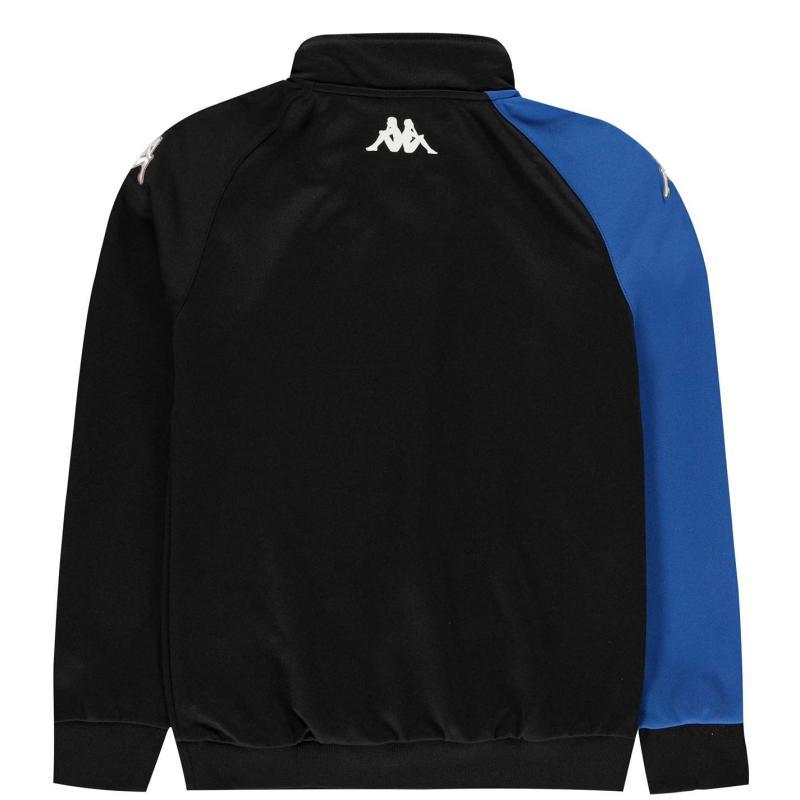 Bunda Kappa Arqua Tracksuit Jacket Junior Boys Black /Nautic B