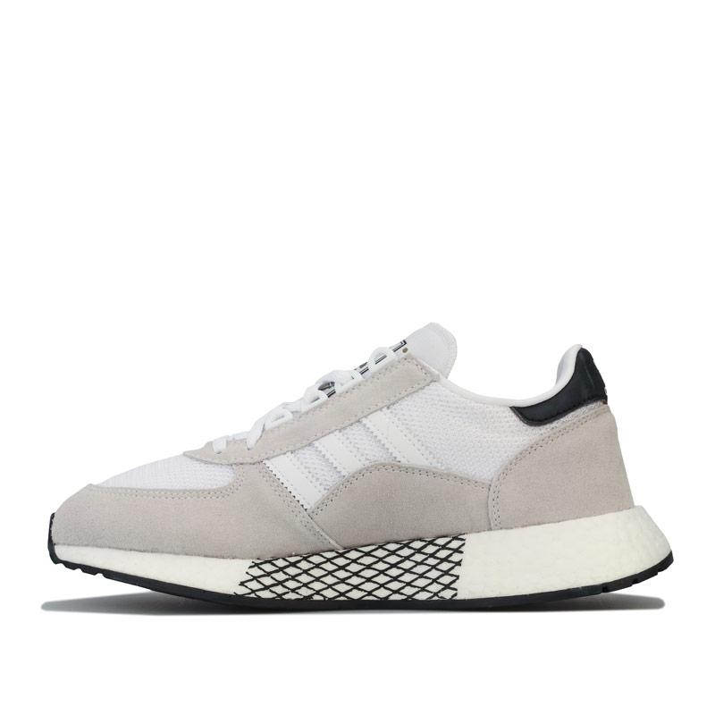 Adidas Originals Mens Marathon Tech Trainers White
