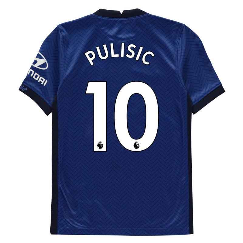 Nike Chelsea Christian Pulisic Home Shirt 2020 2021 Junior Blue
