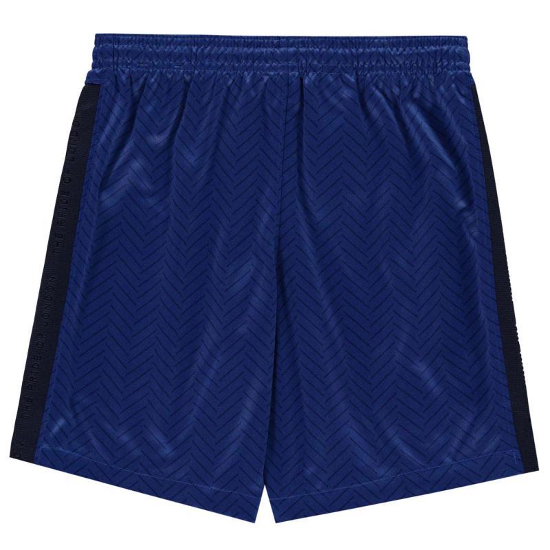 Nike Chelsea Home Shorts 2020 2021 Junior RUSH BLUE/WHITE