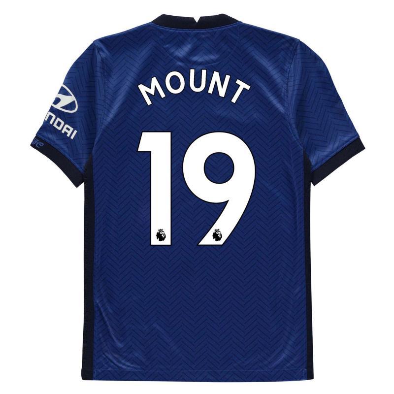 Nike Chelsea Mason Mount Home Shirt 2020 2021 Junior Blue