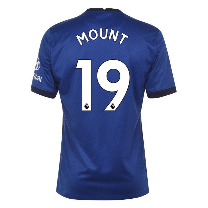 Nike Chelsea Mason Mount Home Shirt 2020 2021 Blue