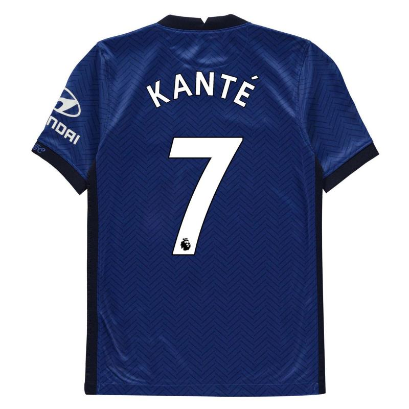 Nike Chelsea Ngolo Kante Home Shirt 2020 2021 Junior Blue