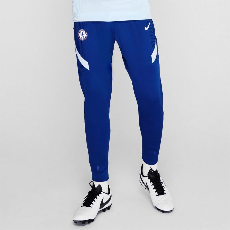 Nike Chelsea Vaporknit Strike Pants 2020 2021 Mens RUSH BLUE/COBALT TINT/COBALT T