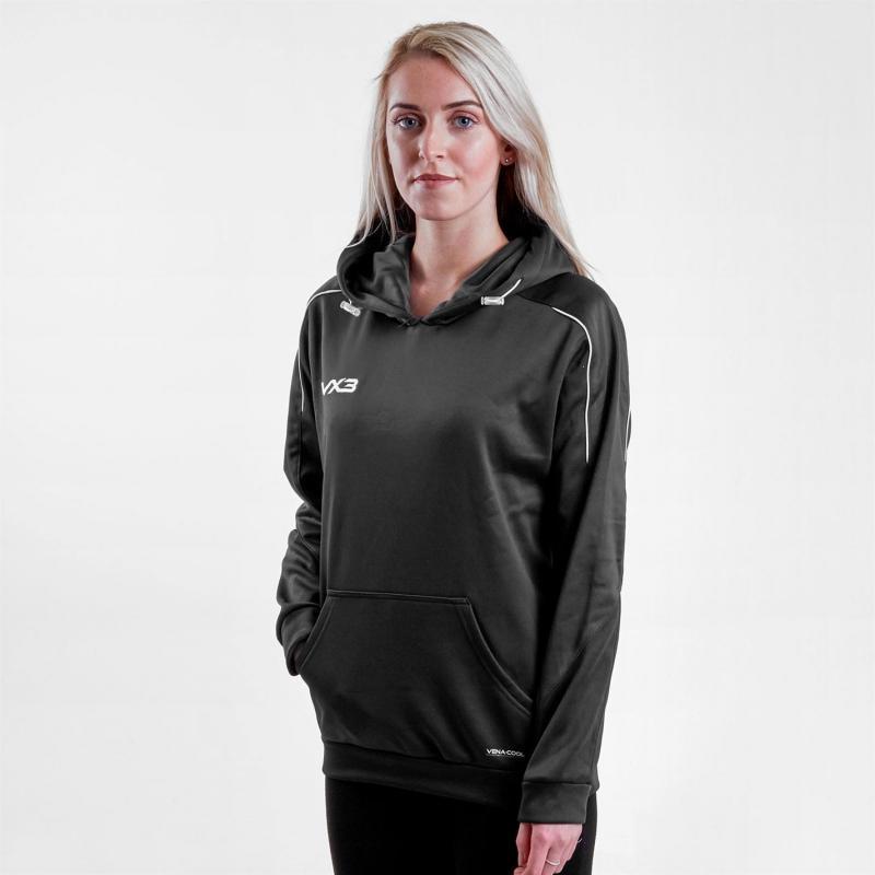 Mikina VX-3 Pro Hoodie Womens Black/Charcoal