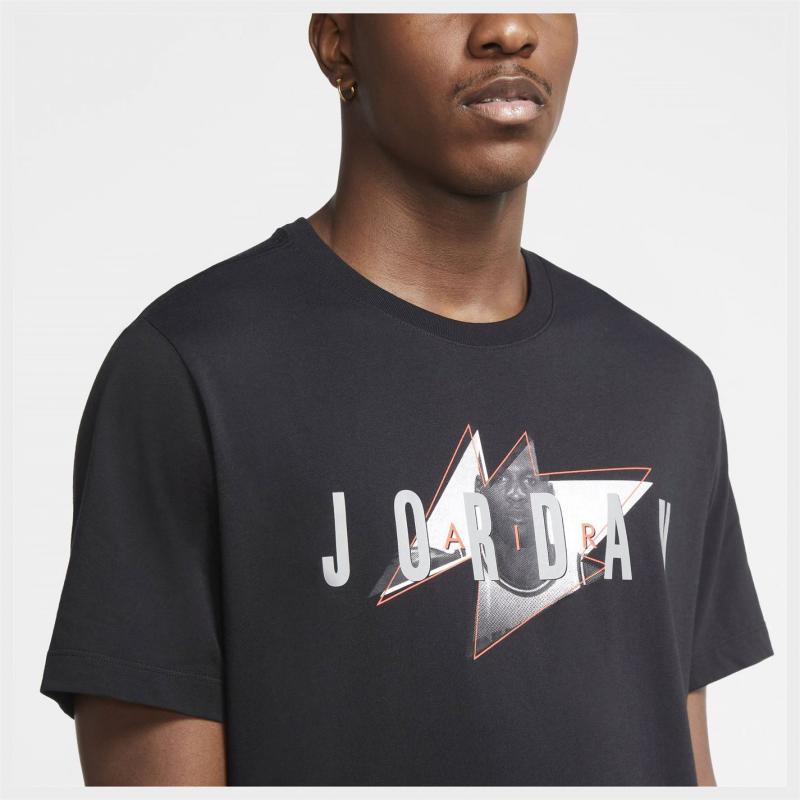 Tričko Air Jordan GRX T Shirt Mens Black