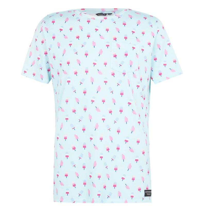 Tričko Bjorn Borg Gelato T Shirt Iced Aqua 73481
