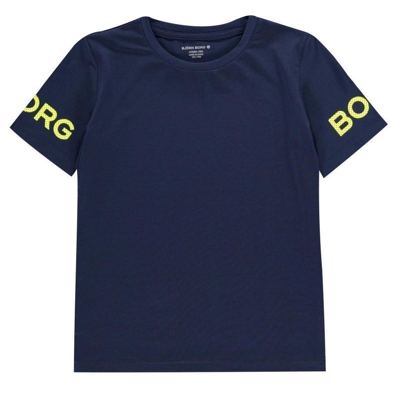 Tričko Bjorn Borg Logo T Shirt Peacoat 70011