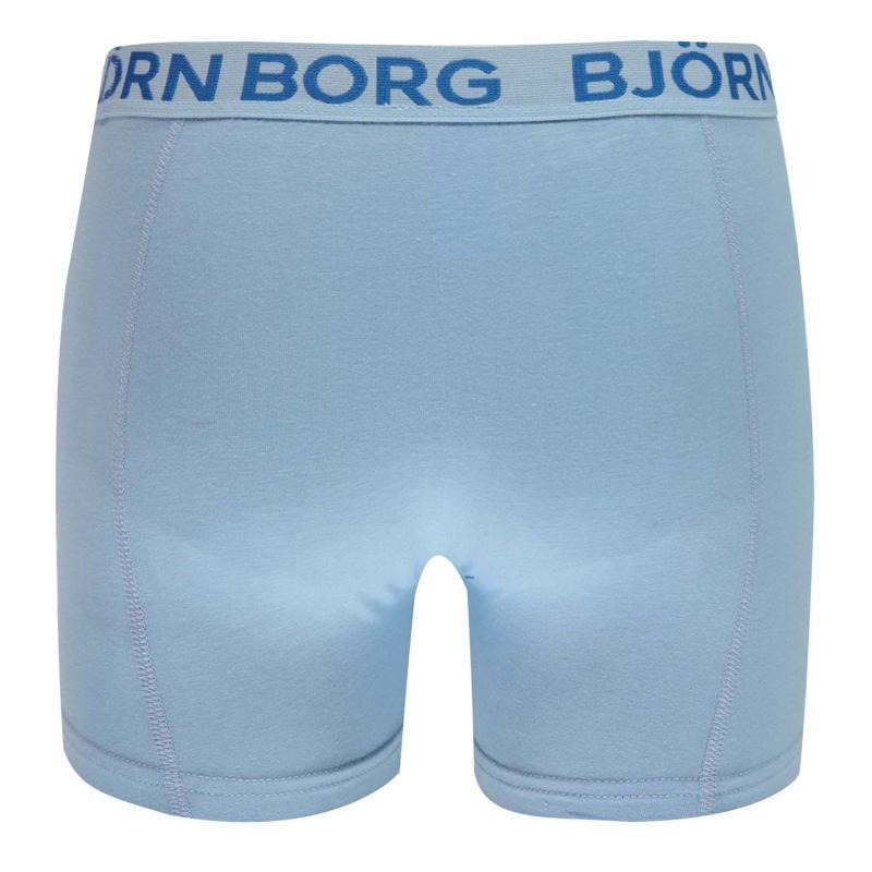 Spodní prádlo Bjorn Borg Surf Web 3 Pack Trunks Surf Blue