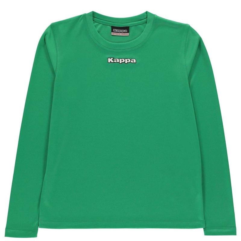 Mikina Kappa Carar Crew Sweatshirt Junior Boys Green