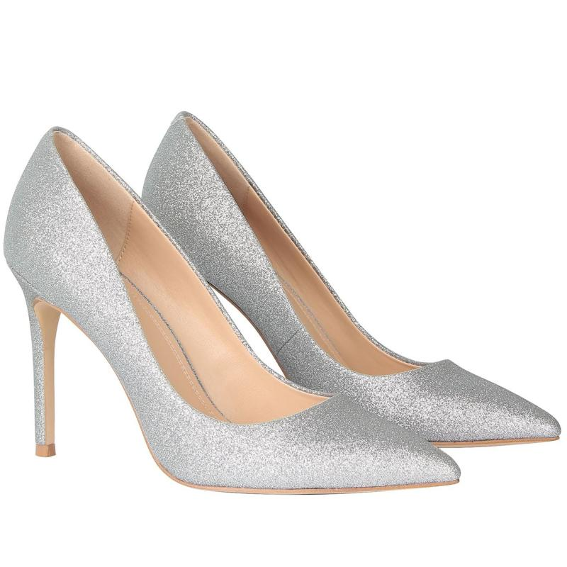 Obuv Linea Stiletto High Heel Shoes Silver