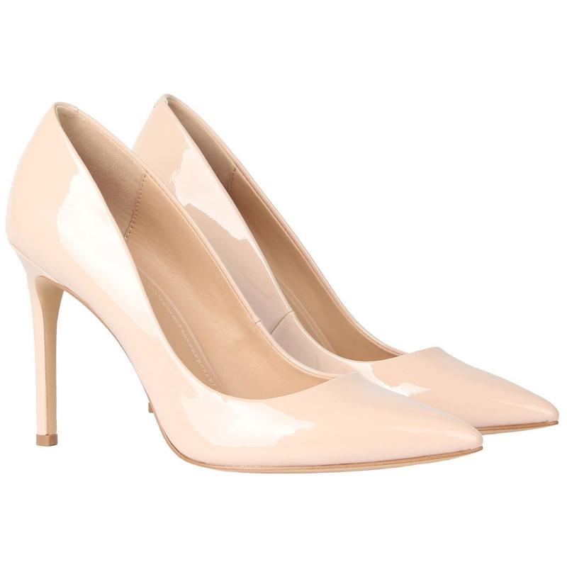 Obuv Linea Stiletto High Heel Shoes Nude Patent