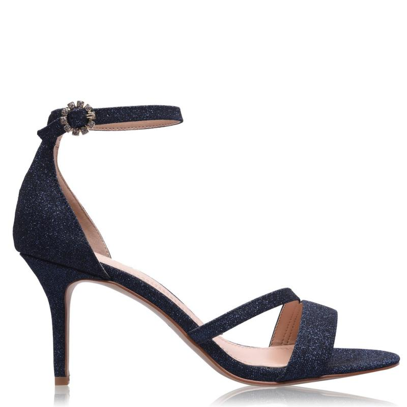 Obuv Linea Strap Mid Jewel Sandals Navy Shimmer