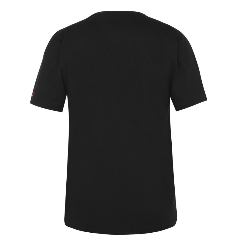 Tričko Lonsdale Japan T Shirt Mens Black Lonsdale