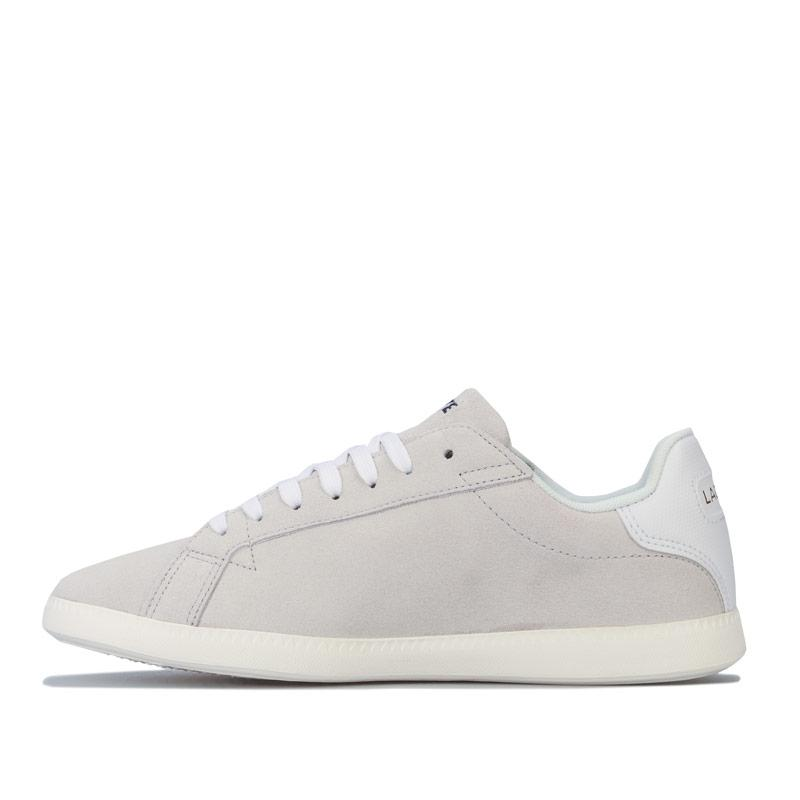 Lacoste Womens Graduate Trainers Off White