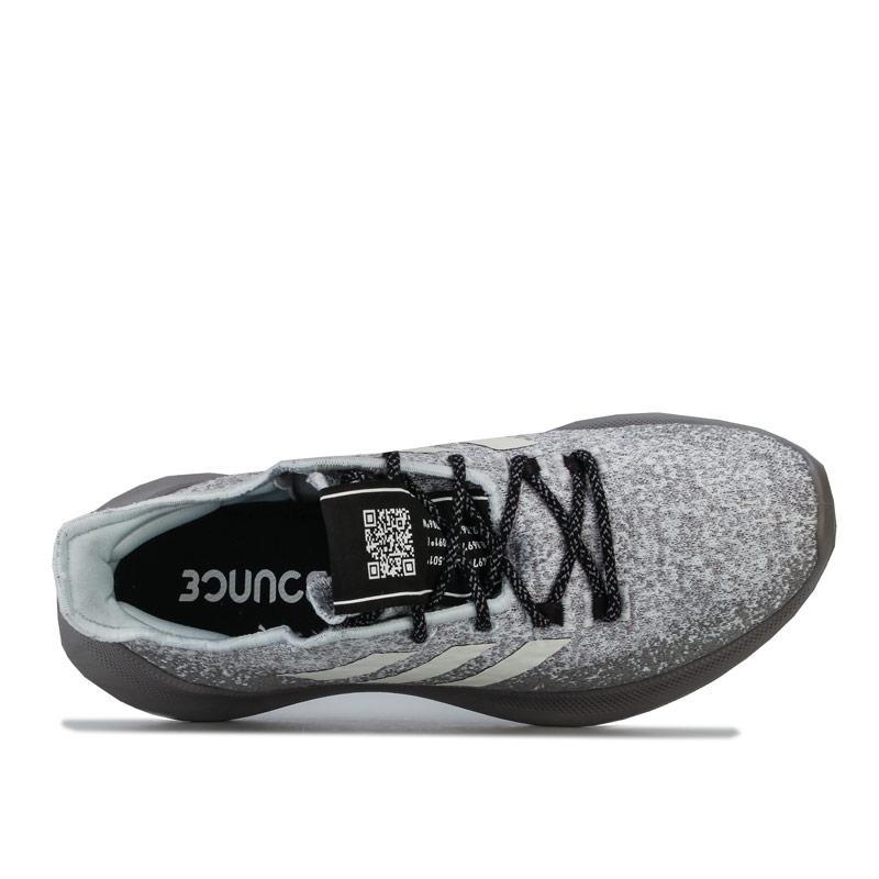 Adidas Womens Sensebounce Plus Running Shoes Grey blue