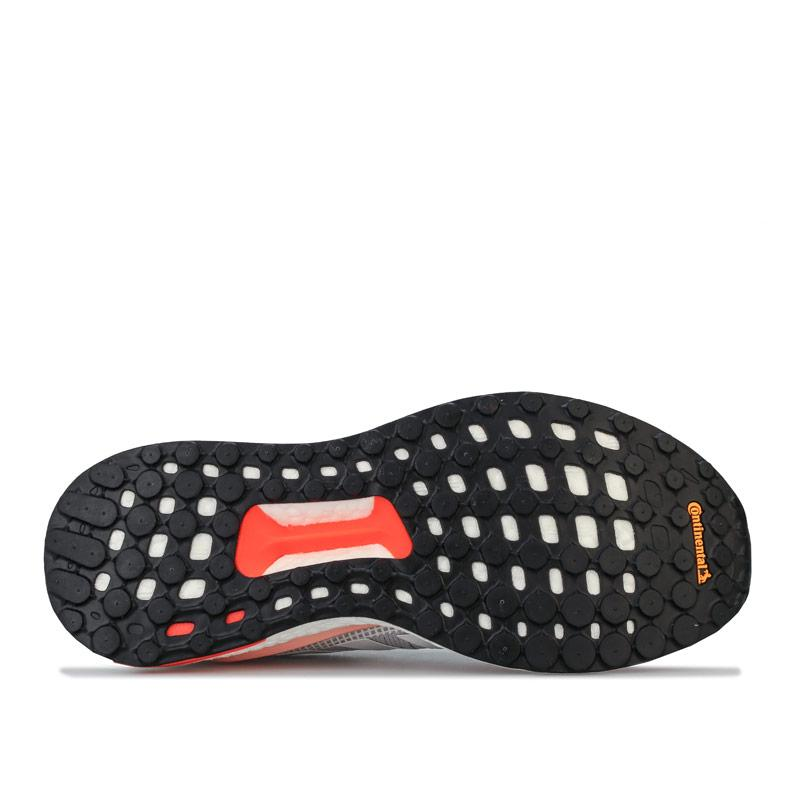 Adidas Womens Solar Glide 19 Running Shoes Grey blue