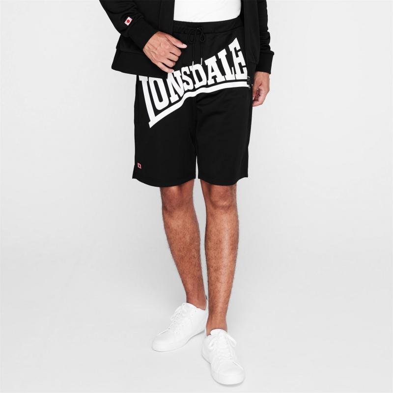 Lonsdale Japan Shorts Mens Black