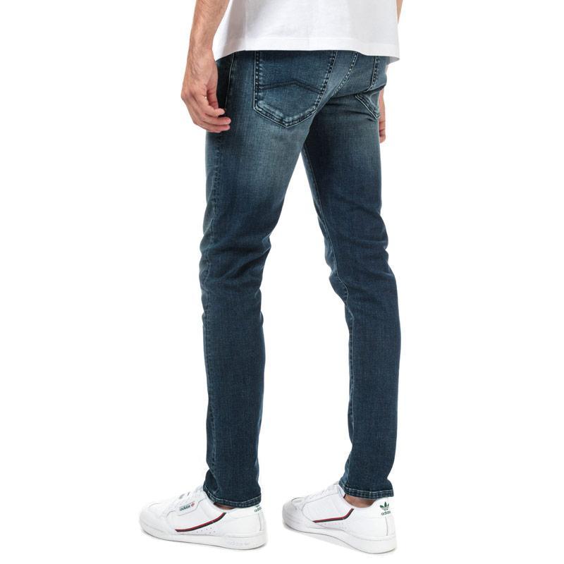 Armani Exchange Mens J14 Skinny Jeans Denim