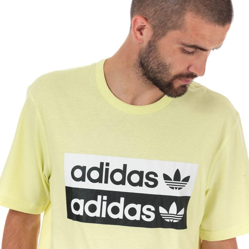 Tričko Adidas Originals Mens R.Y.V Logo T-Shirt Yellow