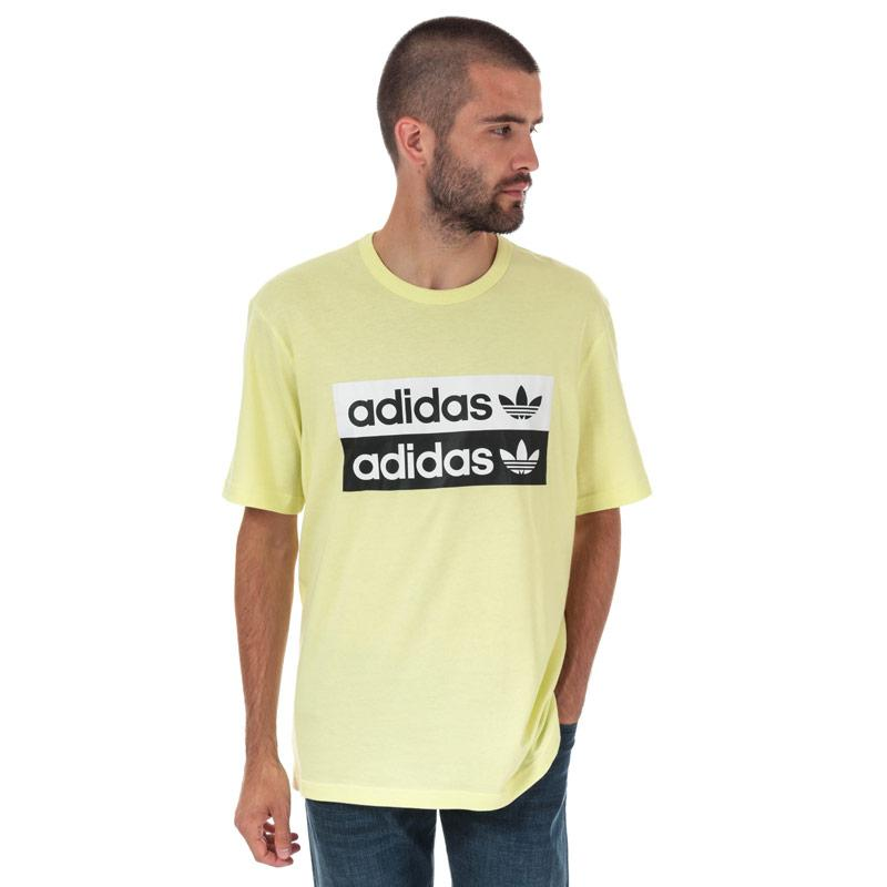 Tričko Adidas Originals Mens R.Y.V Logo T-Shirt Yellow