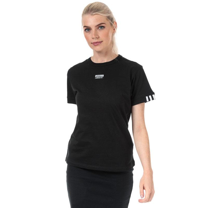 Adidas Originals Womens T-Shirt Black