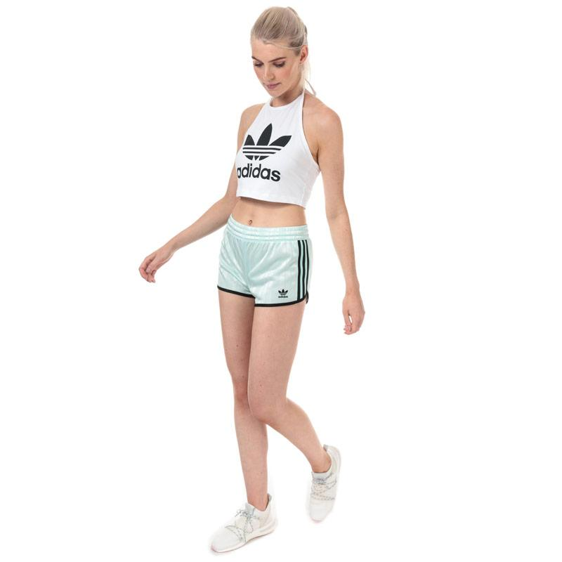 Adidas Originals Womens Trefoil Tank White