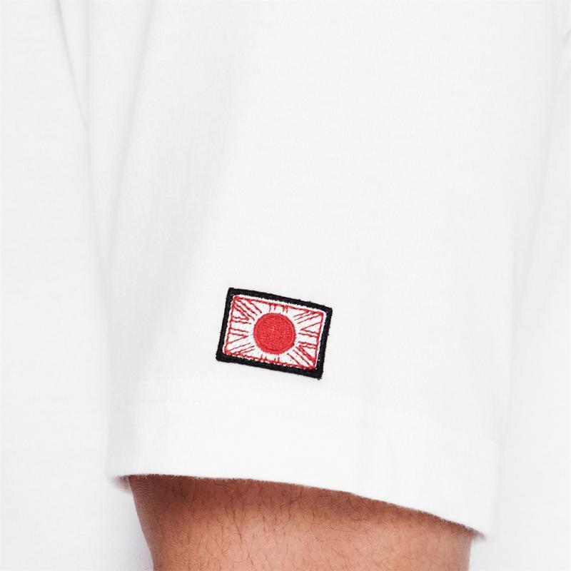 Tričko Lonsdale Japan T Shirt Mens White Square