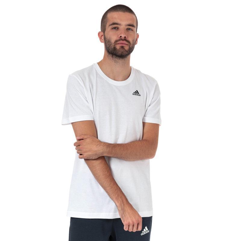 Tričko Adidas Originals Mens Must Have Badge Of Sport T-Shirt White