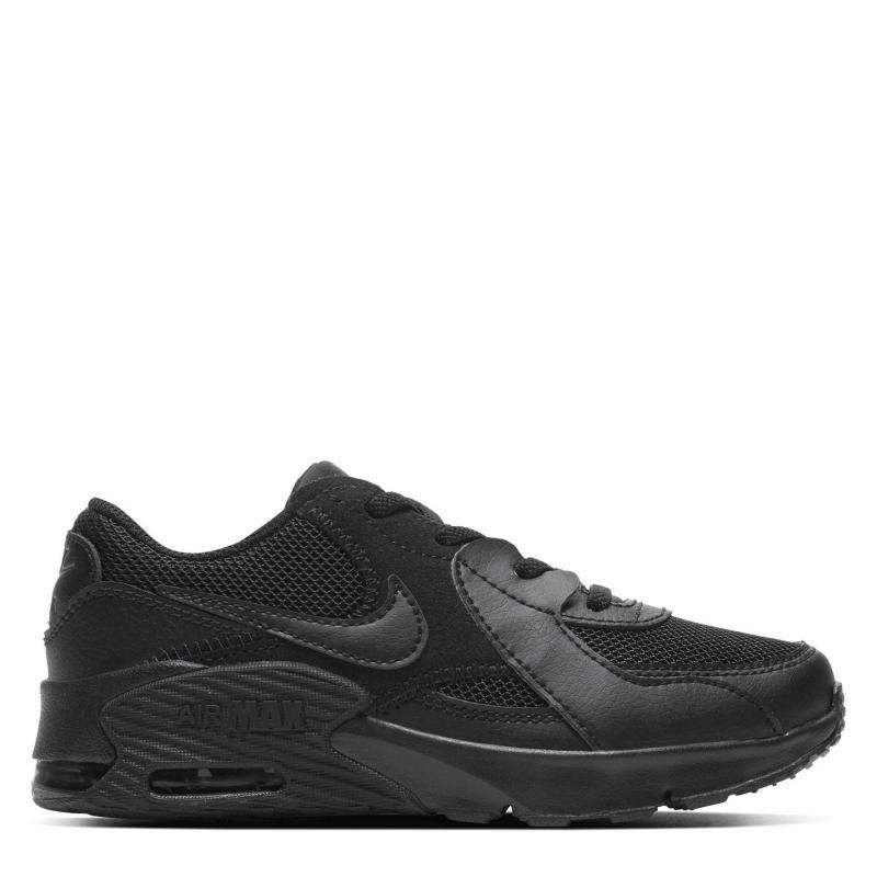 Boty Nike Air Max Excee Trainers Boys BLACK/BLACK-BLACK