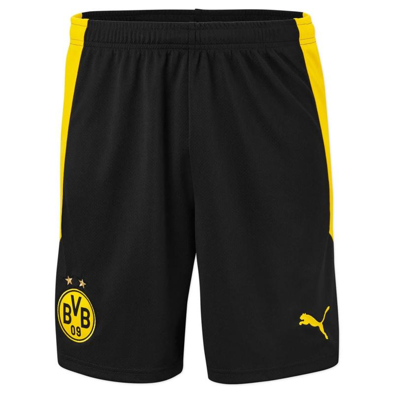 Puma Borussia Dortmund Home Shorts 2020 2021 Black