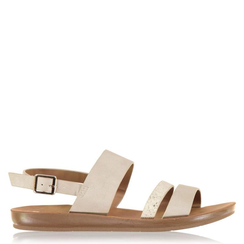 Boty Kangol Mimi Sandals Ladies Cream