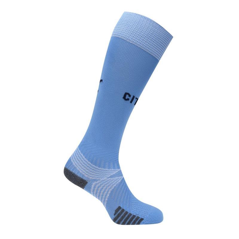 Puma Manchester City Home Socks 2020 2021 Blue