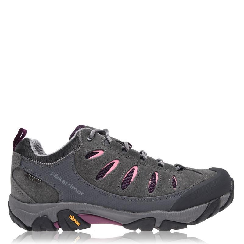 Boty Karrimor Aspen Low Walking Trainers Ladies Charcoal
