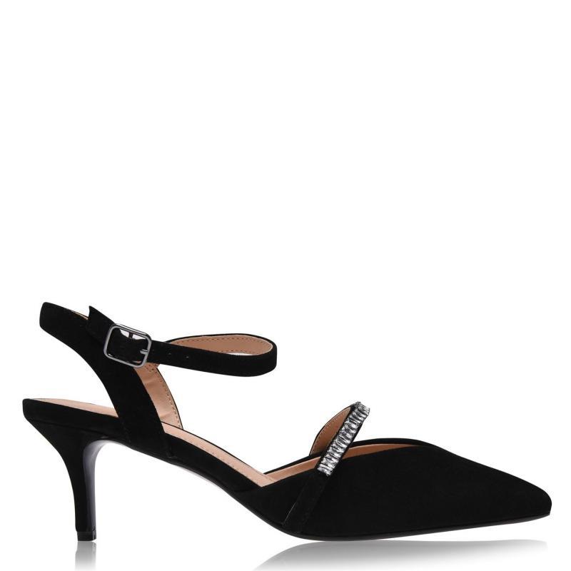 Obuv Linea D Kitten Heels Black