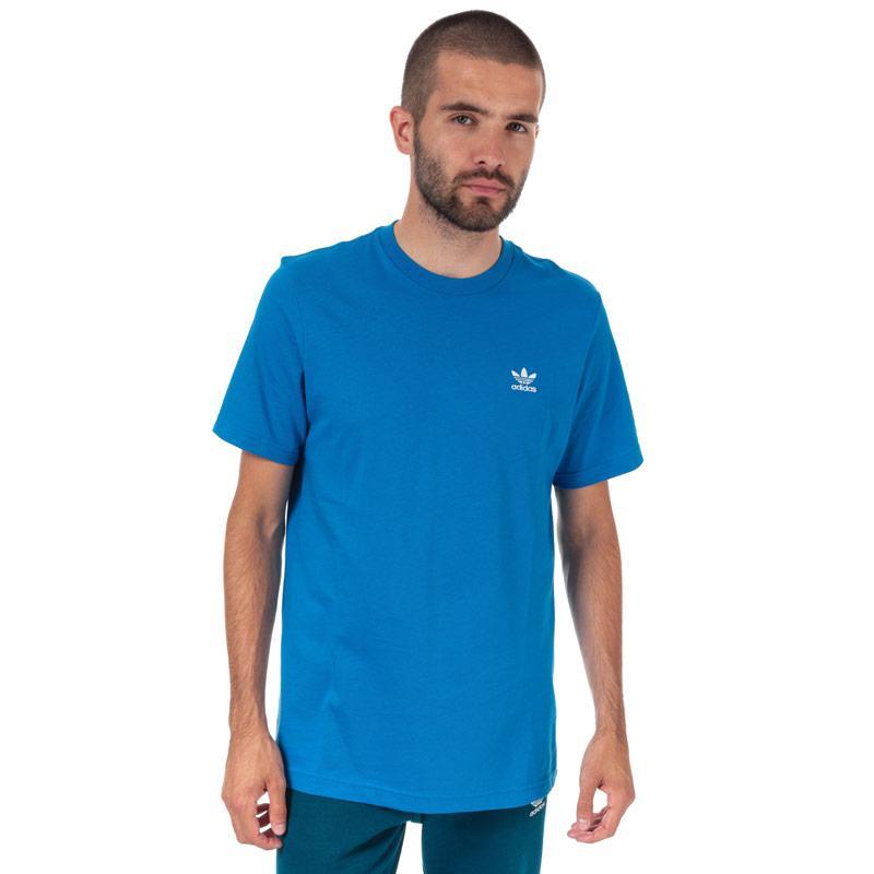 Tričko Adidas Originals Mens Essentials T-Shirt Blue