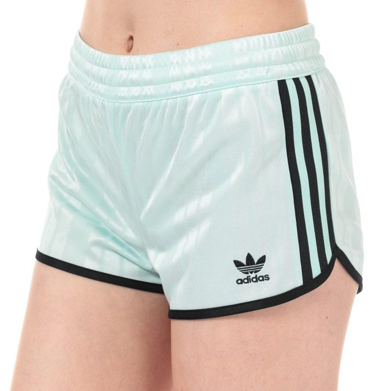 Adidas Originals Womens Shorts Blue