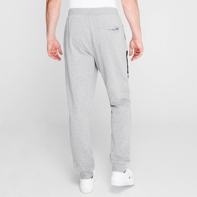 Tepláky Lonsdale Japan Fleece Jogging Pants Mens Grey