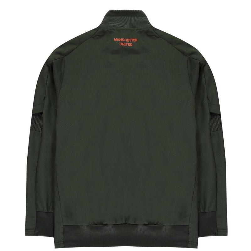 Adidas Manchester United Presentation Jacket 2020 2021 Junior Green