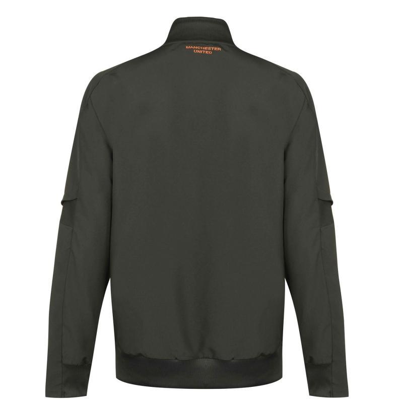 Adidas Manchester United Presentation Jacket 2020 2021 Mens Green