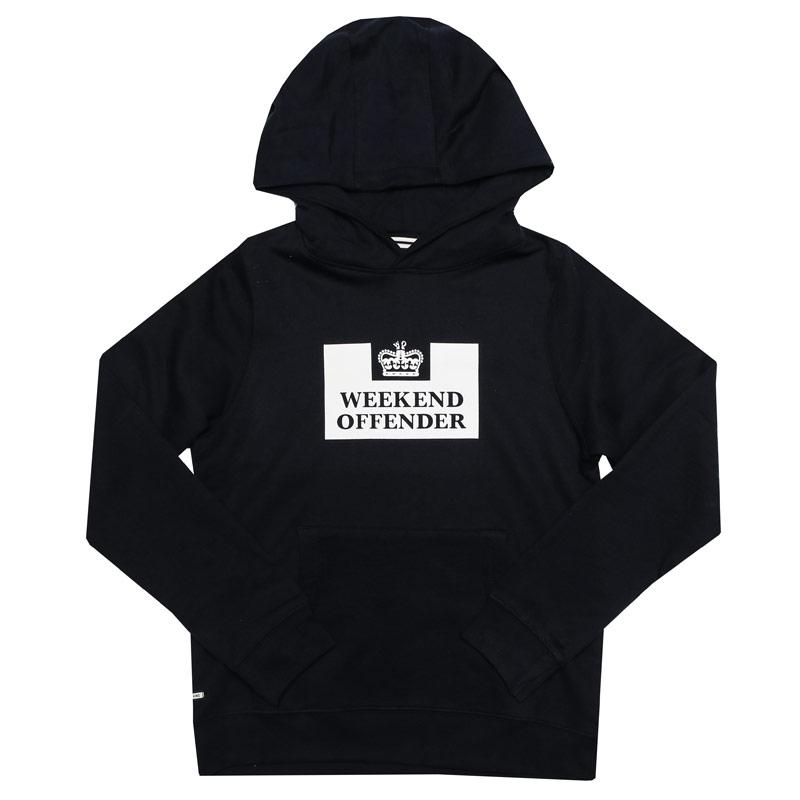 Weekend Offender Infant Boys HM Service Hoody Navy