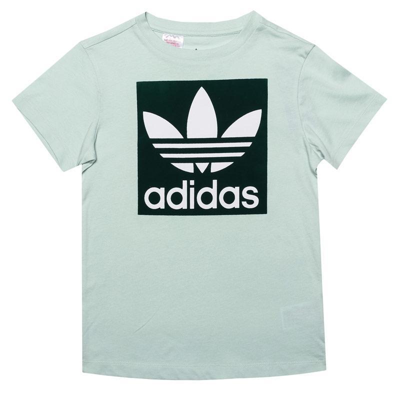 Tričko Adidas Originals Junior Boys Trefoil T-Shirt Green