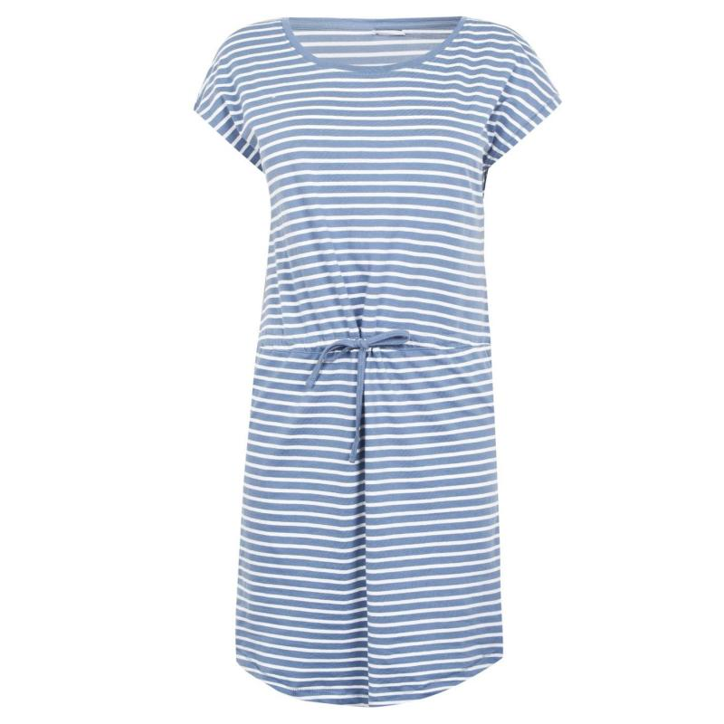 Šaty Only May Short Sleeve Dress Blue Mirage
