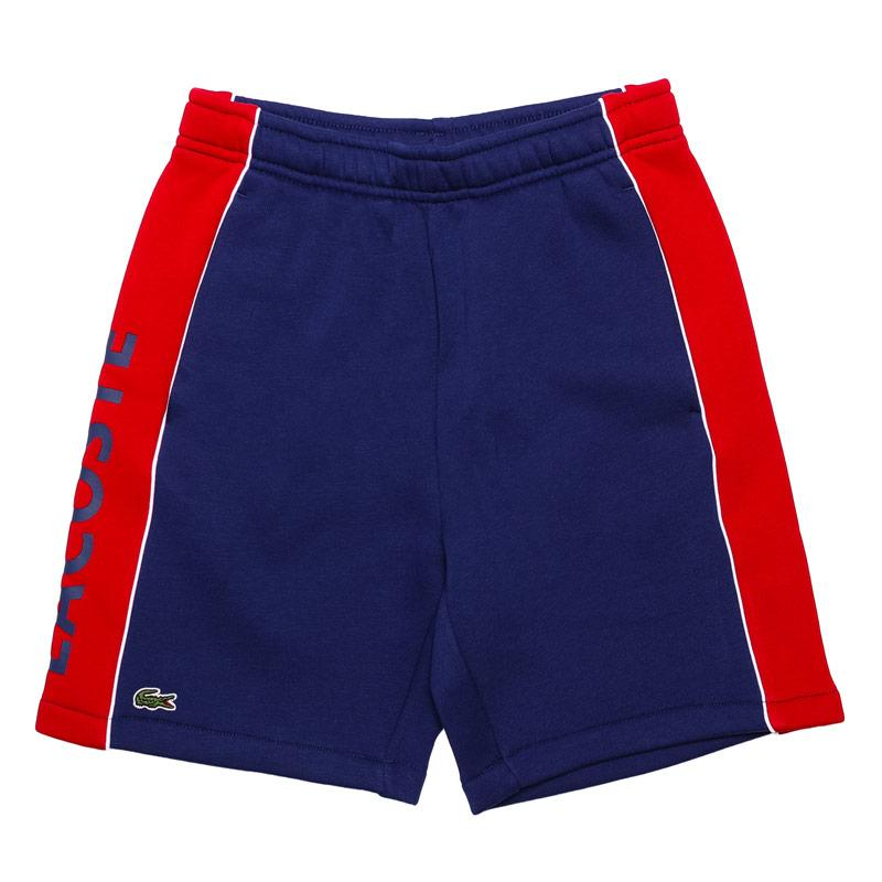 Kraťasy Lacoste Junior Boys Sport Panel Shorts Blue
