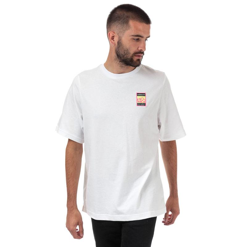 Tričko Adidas Originals Mens Graphic T-Shirt White
