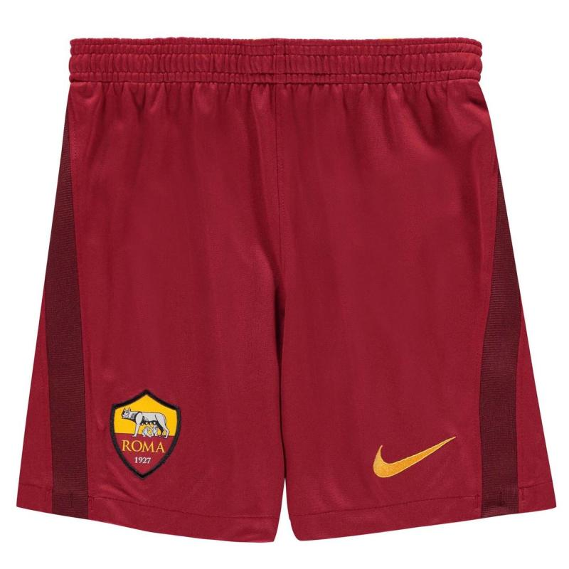 Nike AS Roma Home Shorts 2020 2021 Junior Red