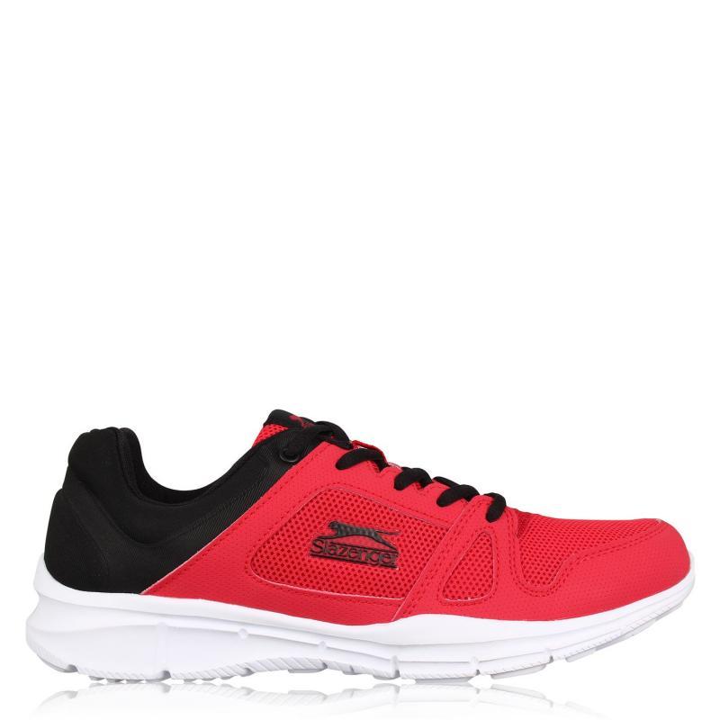 Slazenger Force Mesh Running Shoes Mens Red