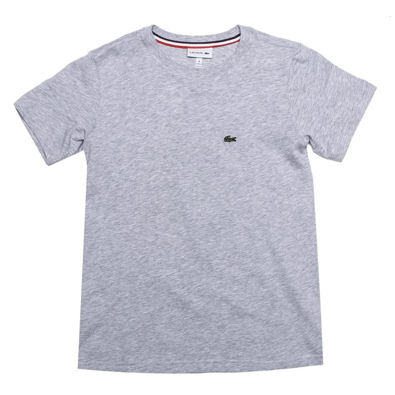 Tričko Lacoste Junior Boys Logo Crew T-Shirt Grey