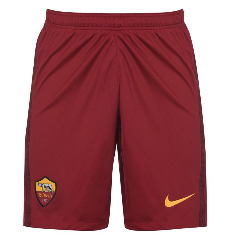 Nike AS Roma Home Shorts 2020 2021 Red